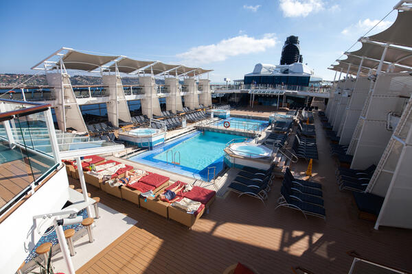 The Pool on Celebrity Reflection (Photo: Cruise Critic)