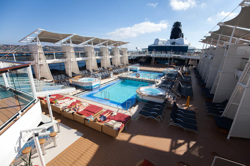 The Pool on Celebrity Reflection