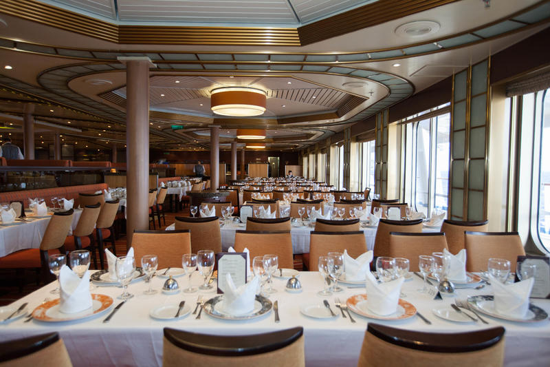Sunset Restaurant on Carnival Sunshine