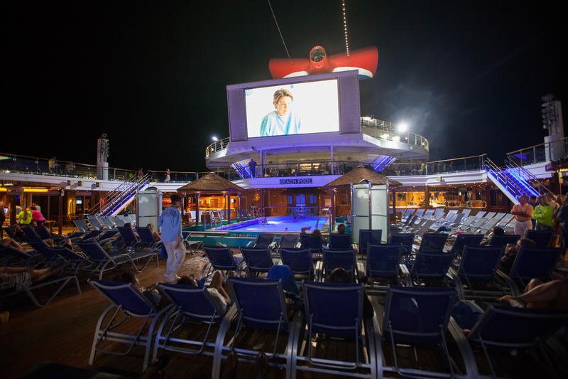 Sea Side Theater on Carnival Sunshine