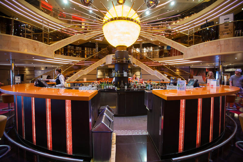 Atrium Bar on Carnival Sunshine