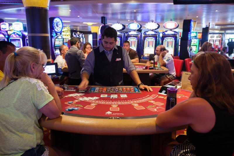 Casino on Carnival Sunshine