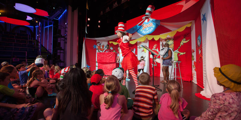 Seuss-A-Palooza Story Time on Carnival Sunshine (Photo: Cruise Critic)