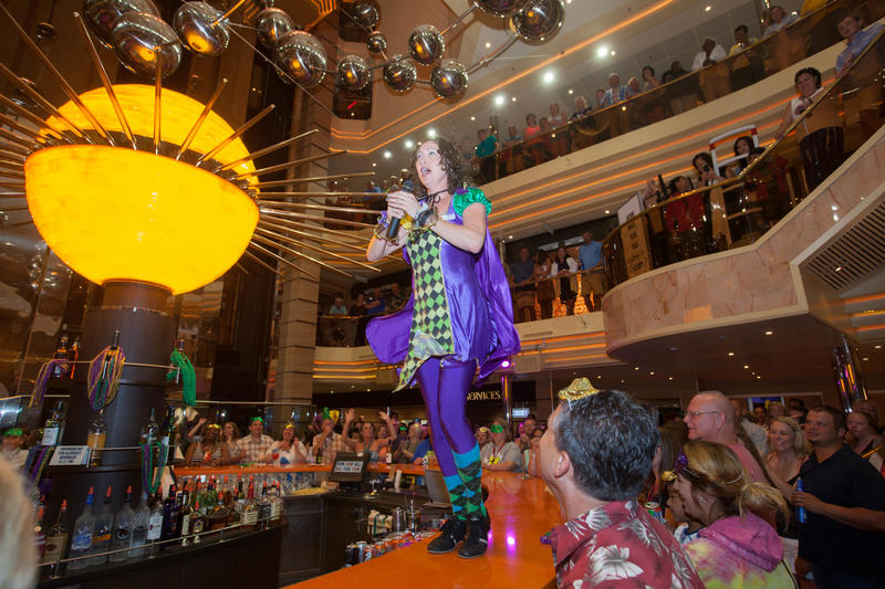 Mardi Gras Party on Carnival Sunshine