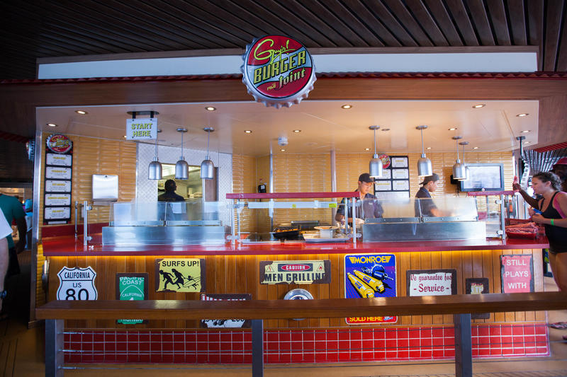 Guy's Burger Joint on Carnival Sunshine