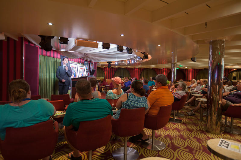 Art Auction on Carnival Sunshine