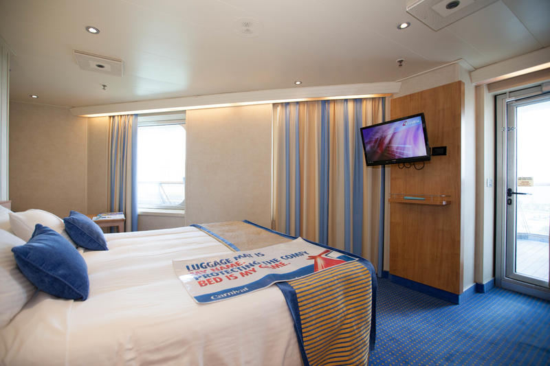 The Premium Vista Balcony Cabin on Carnival Sunshine