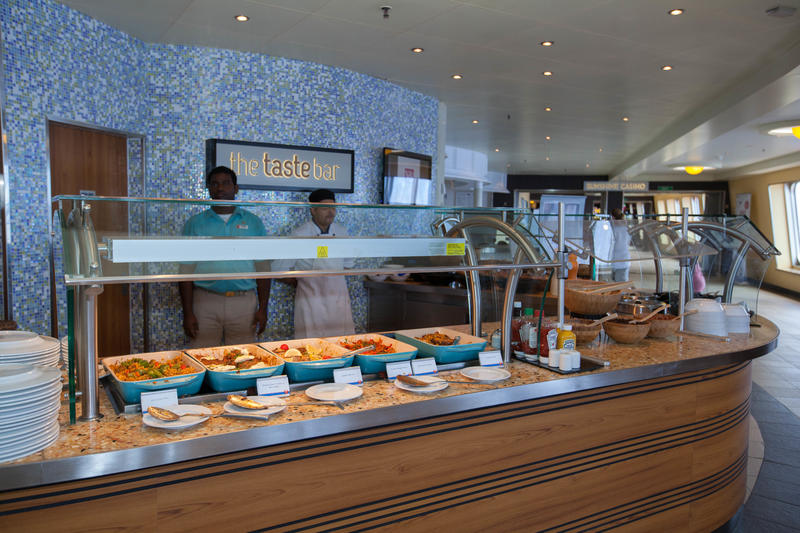 The Taste Bar on Carnival Sunshine