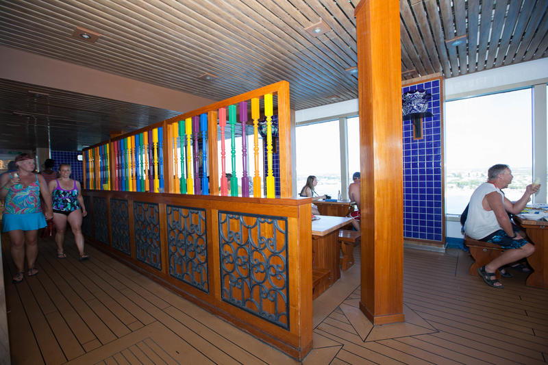 BlueIguana Cantina on Carnival Sunshine