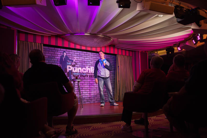 The PunchLiner Comedy Club on Carnival Sunshine