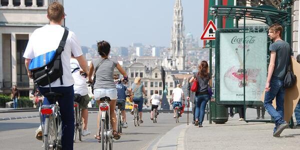 Bike tour in Brussels, Belgium (Photo: Viator)
