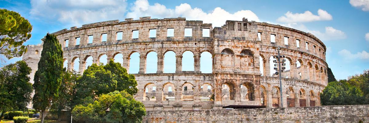 Roman amphitheatre in Pula, Croatia (Photo: Aleksandar Todorovic/Shutterstock)