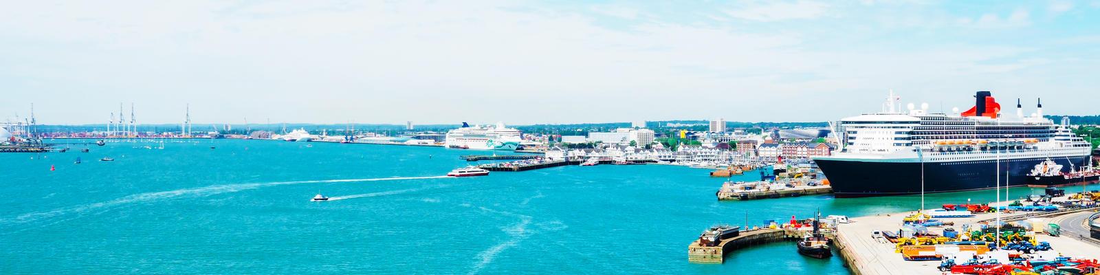Embarkation in Southampton Cruise Port (Photo: LazarSG/Shutterstock.com)