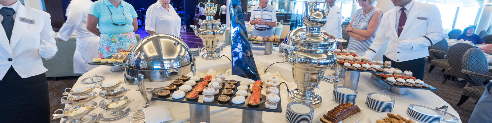 Best Afternoon Tea on Cruises (Photo: Cruise Critic)