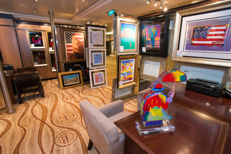 Art Gallery on Celebrity Summit