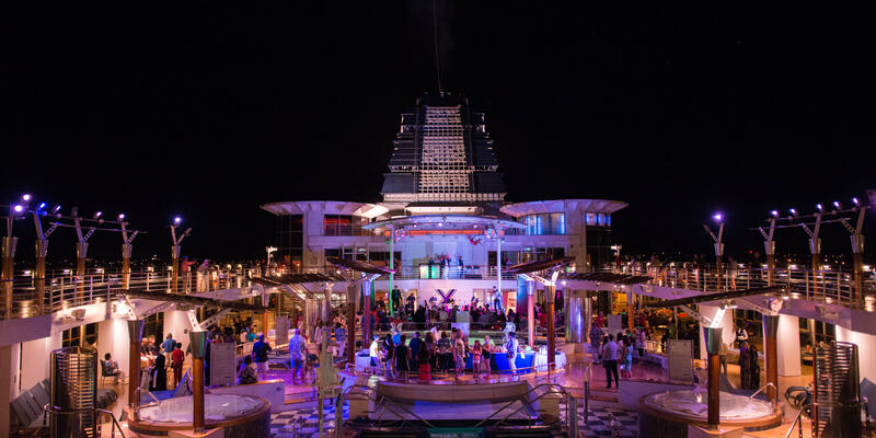 Deck Party on Celebrity Summit