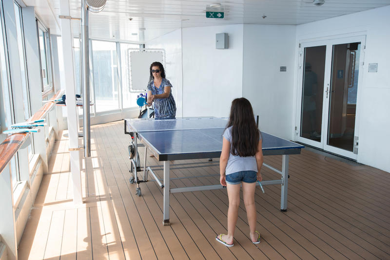 Table Tennis on Celebrity Summit