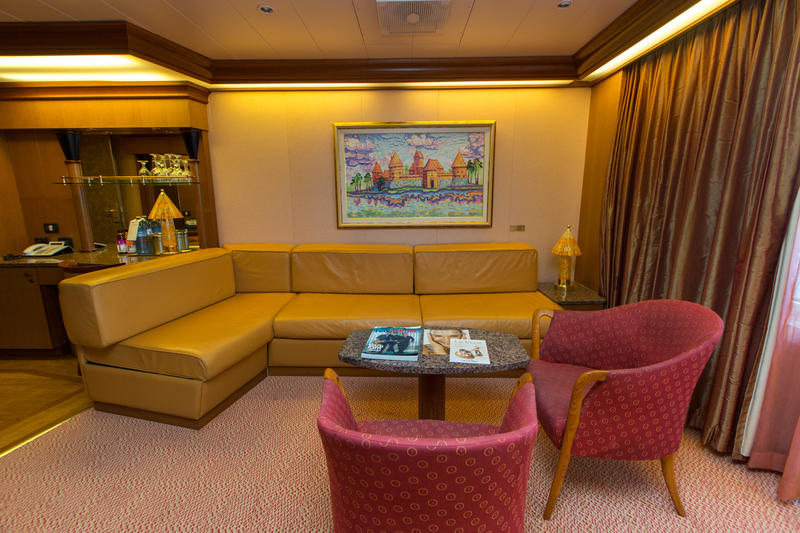 Grand Suite On Carnival Freedom Cruise Ship