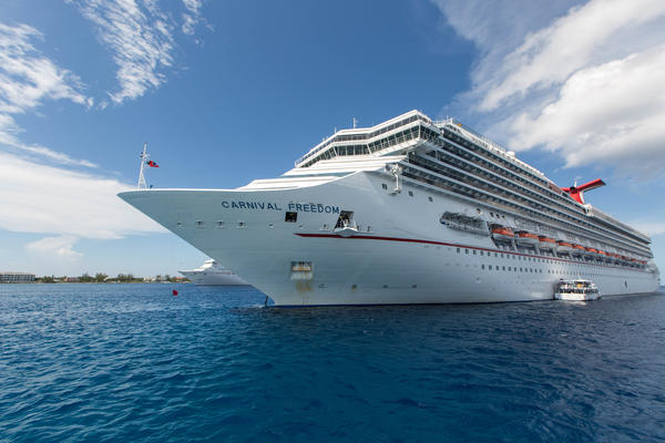 Exterior on Carnival Freedom