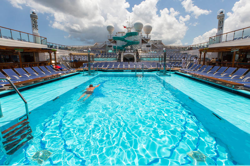 Pools On Carnival Freedom Cruise Ship