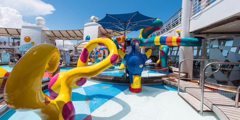 The H2O Zone on Oasis of the Seas
