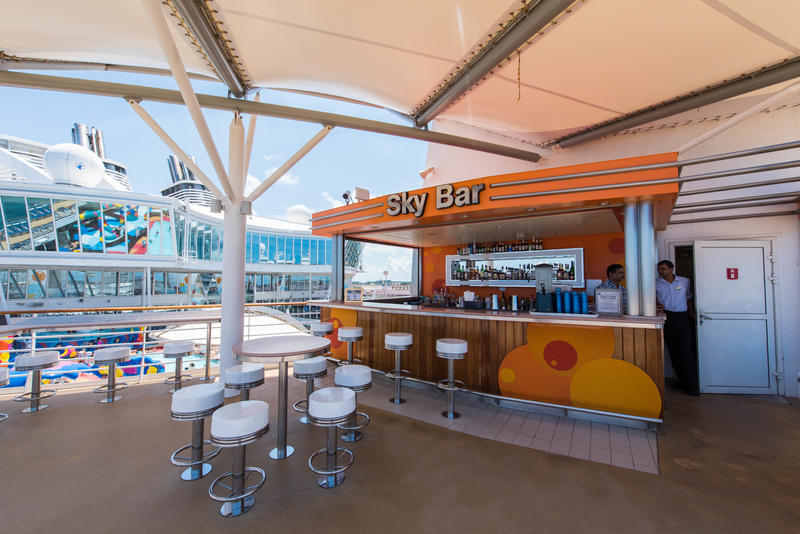 Sky Bar on Oasis of the Seas