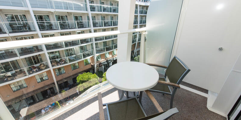 The Central Park View Cabin on Oasis of the Seas
