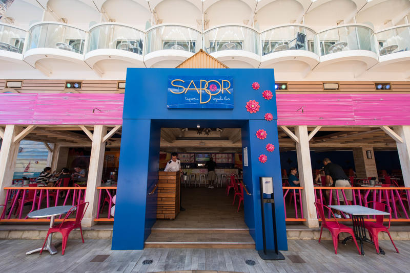 Sabor Taqueria & Tequila Bar on Oasis of the Seas