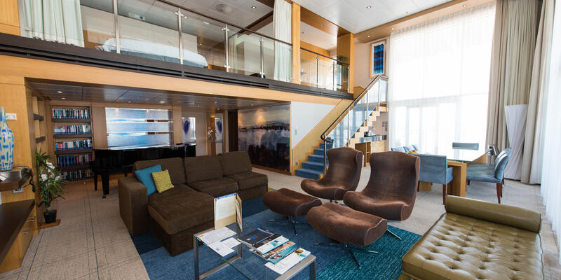 The Royal Loft Suite on Oasis of the Seas (Photo: Cruise Critic)