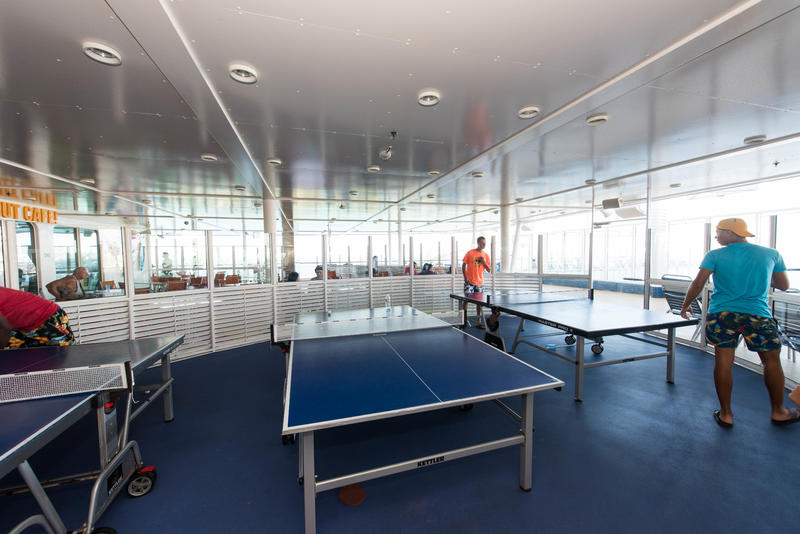 Table Tennis on Oasis of the Seas