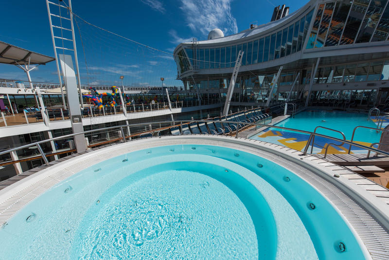 The Sports Pool on Oasis of the Seas