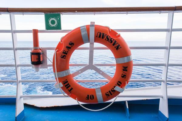 Life Buoy Ring (Photo: Cruise Critic)