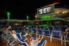 Dive-In Movies at Carnival Seaside Theatre