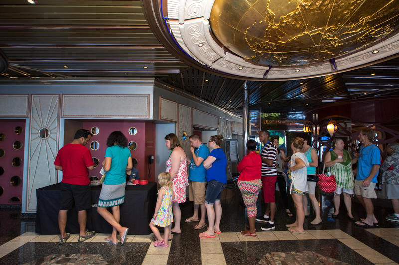 Art Auctions on Carnival Triumph