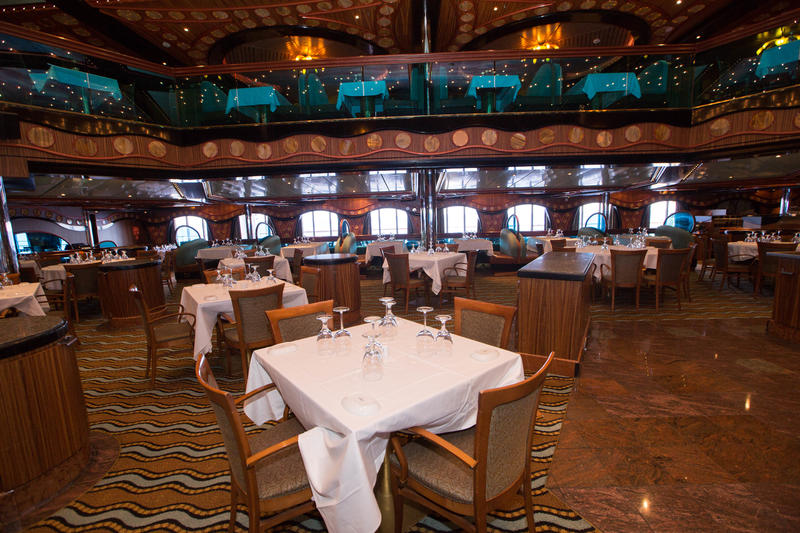 London Dining Room on Carnival Triumph