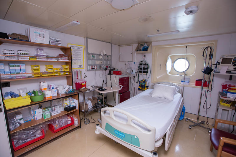 Medical Center on Carnival Triumph