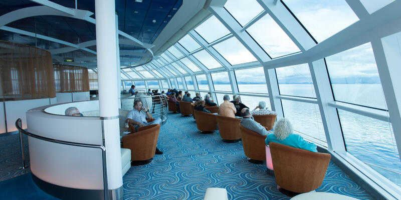 Sky Observation Lounge on Celebrity Solstice (Photo: Cruise Critic)