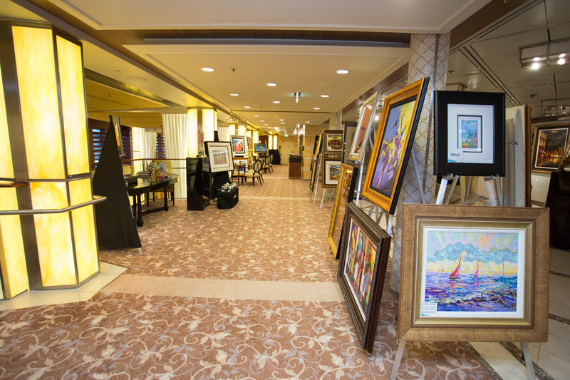 Art Gallery on Celebrity Solstice