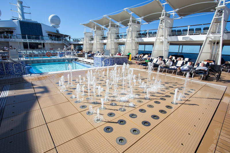 The Wet Zone on Celebrity Solstice