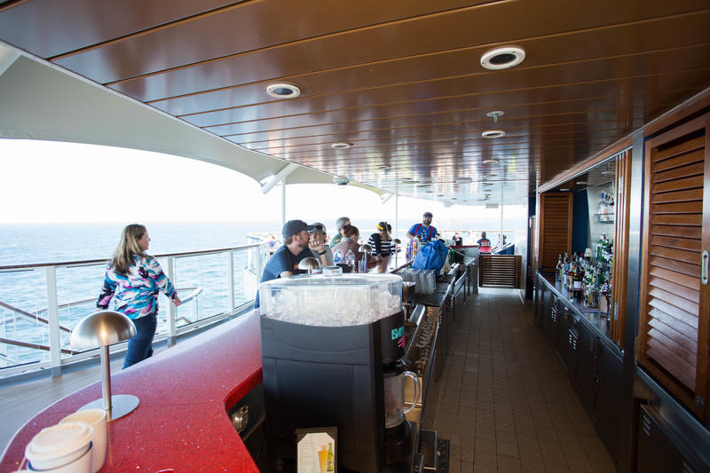 The Sunset Bar on Celebrity Solstice
