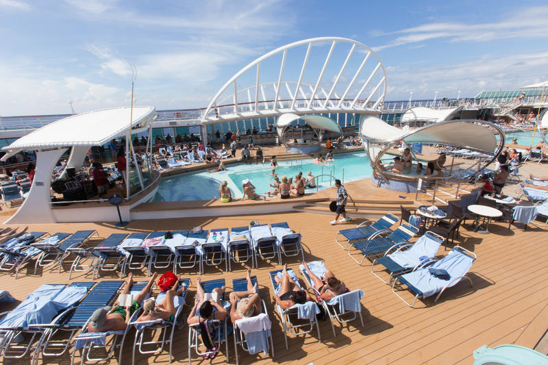 The Sports Pool on Enchantment of the Seas