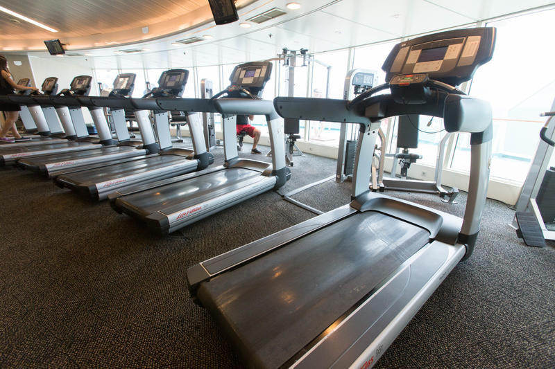 Fitness Center on Enchantment of the Seas