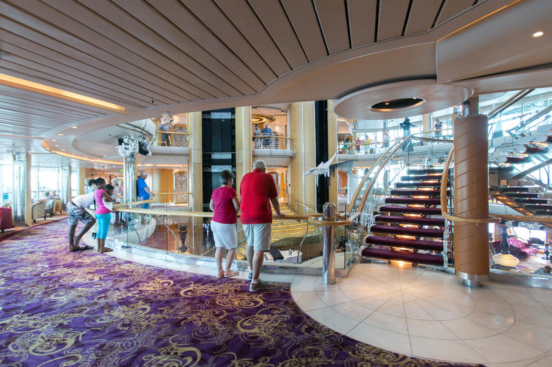 Salsa Dance Class with Magic Marvin on Enchantment of the Seas