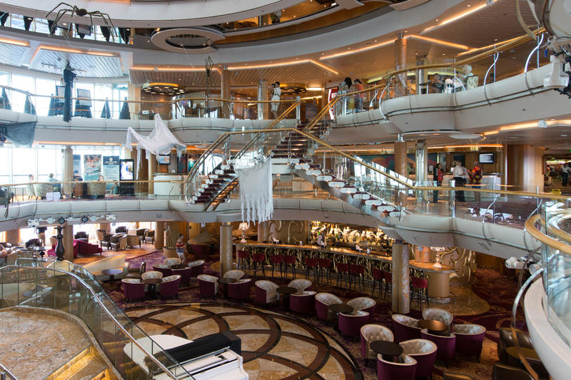 Atrium on Enchantment of the Seas