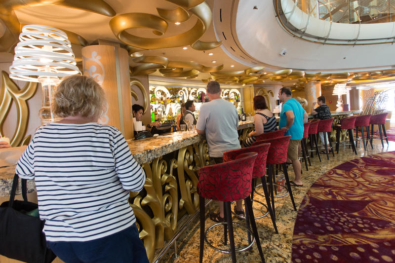 Martini Clinic on Enchantment of the Seas