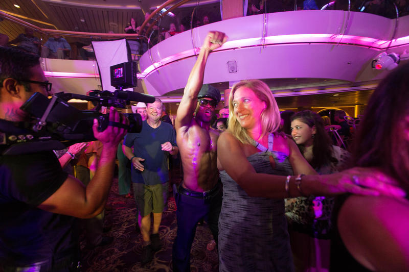 Disco Inferno Party on Enchantment of the Seas