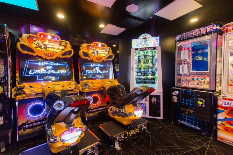 Challenger's Video Arcade on Enchantment of the Seas
