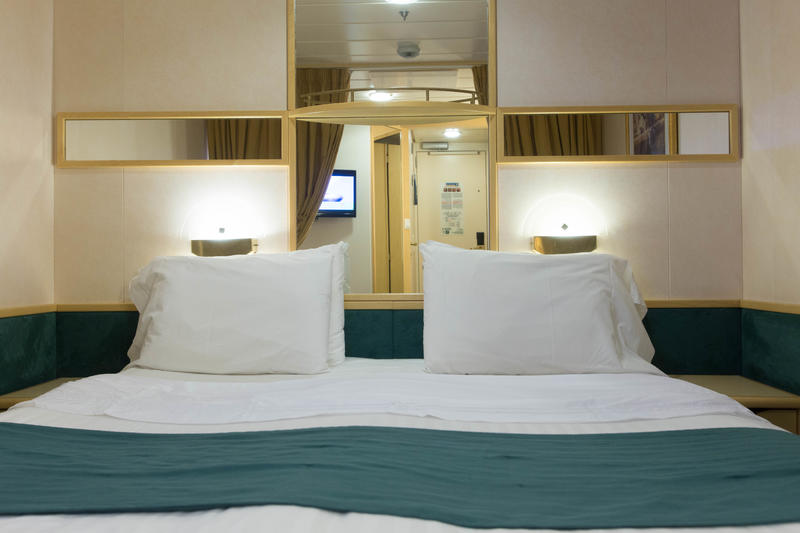 The Inside Cabin on Enchantment of the Seas