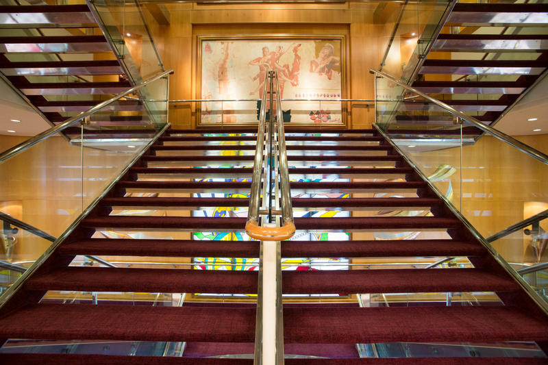 Stairs on Enchantment of the Seas