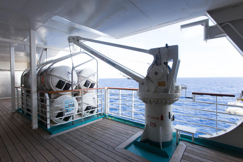 Promenade Deck on Enchantment of the Seas